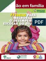 Cartilha Educação em Família escola-particular