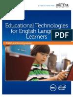 Cde Educational Technologies English Language Learners