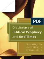 Dictionary of Biblical Prophecy and End Times, excerpt