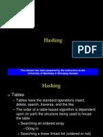 01 Hashing (Chap 12)