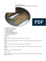 100 Percent Stoneground Whole Wheat Bread