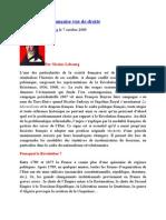 La Révolution française vue de droite Nicolas Lebourg