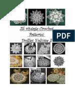 25 Vintage Crochet Patterns, Doilies Volume 3