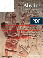 David O'Connor.......Abydos, Egypt's First Pharaohs & the Cult of Osiris (by House of Books)