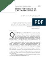 Pelayo Angel - Michel Foucault Y El Problema de Genero