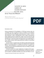 Representaciones sociales agua Valle Mexico - Arsenio Gonzalez Reynoso