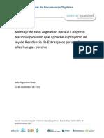Ley de residencia argentina