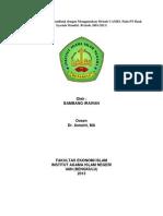 Analisis Tingkat KesehatanBank Dengan Menggunakan Metode CAMEL Pada PT Bank Syariah Mandiri