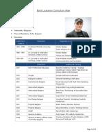 CV Boris Loukanov