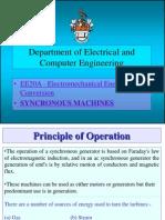 Syncronous Machines