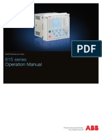 615 Series Opertion Manual