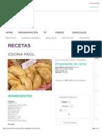 Recetas | Empanadas de Carne | FOXlife.com