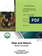 Risk and Rates of Return - Demo