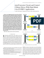 Integrated Inverter/Converter Circuit and Control