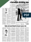 Biggest Winner Update, Keeping Fit, Sun Media (Nov. 27, 2006)