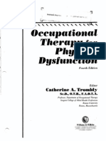 102 Occupational Therapy for Physical Dysfunction