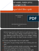 Workshop Kabel Fiber Optic