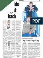 Ackland Boys, Keeping Fit, Sun Media (Jan. 1, 2007)