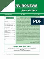 EnviroNews January 2014