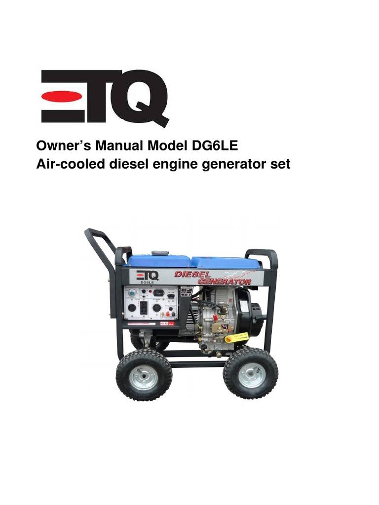 Etq Generator Manual Enginebriggs Diagram And Parts List For Murray Walkbehindlawnmower Youtube Premium Array Diesel Internal Combustion Engine Rh Es Scribd
