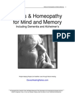 Mind Memory Herbs Homeopathy