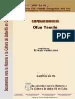 Serie 1 Ofun Yemilo