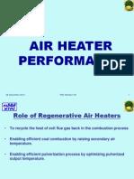 Air Heater Performance