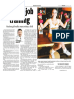 Krystal Hawryluk, Keeping Fit, Sun Media (Feb. 12, 2007)