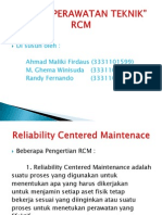 Perawatan Teknik (RCM