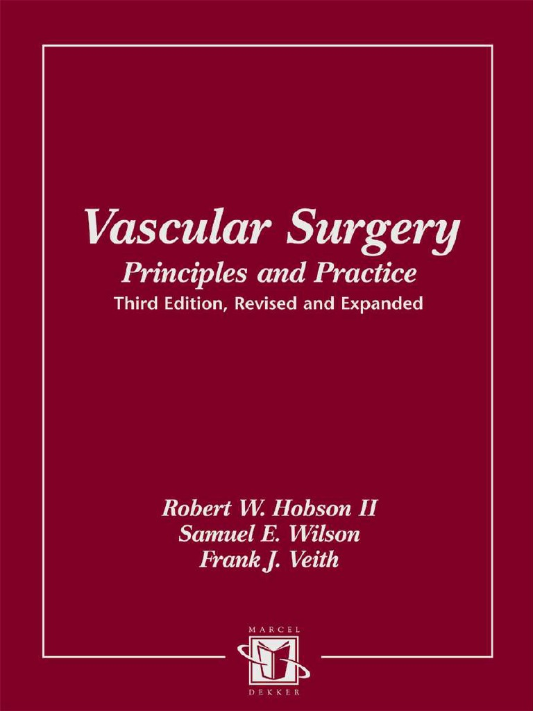 Vascular surgery principles and practice 3rd ed fandeluxe Gallery