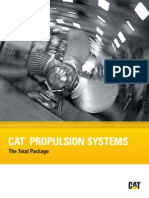 Caterpillar Marine Propulsion Systems Brochure