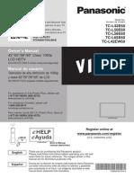 Panasonic Manual TCL42E60
