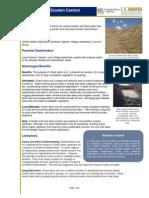 Check Dams Erosion Control