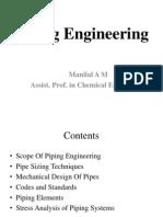 Piping EngineeringManilalAM