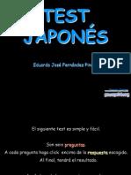Test japonés