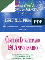Concierto Pirotécnico Musical