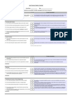 JP Fidelity Checklist