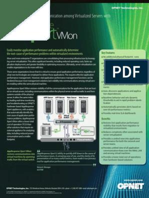 VM Monitoring | OPNET AppResponse Xpert VMon | Virtual