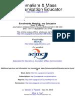 Journalism & Mass Communication Educator 2013 Marron 303 4