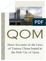 Lives of the Ulemas Buried