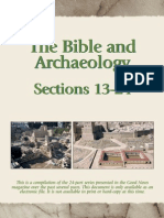 The Bible and Archeology Part 2