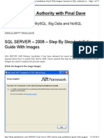 SQL 2008 Server Installation Guide