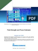 Field Strength and Power Estimator