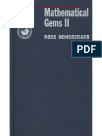 Ross Honsberger- Mathematical Gems.vol. II