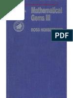 Ross Honsberger - Mathematical Gems.vol. III