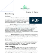 Mission N Vision Company Profile