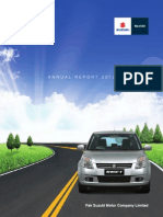 Suzuki Annual Report 2012