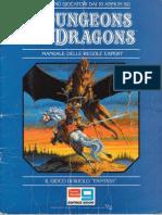 ([D&D 1e BD&D ITA] Set 2 Expert - Manuale Delle Regole Expert)
