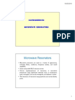 Microwave Resonators
