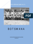 Peace Corps Botswana Welcome Book | June 2013 'CCD'